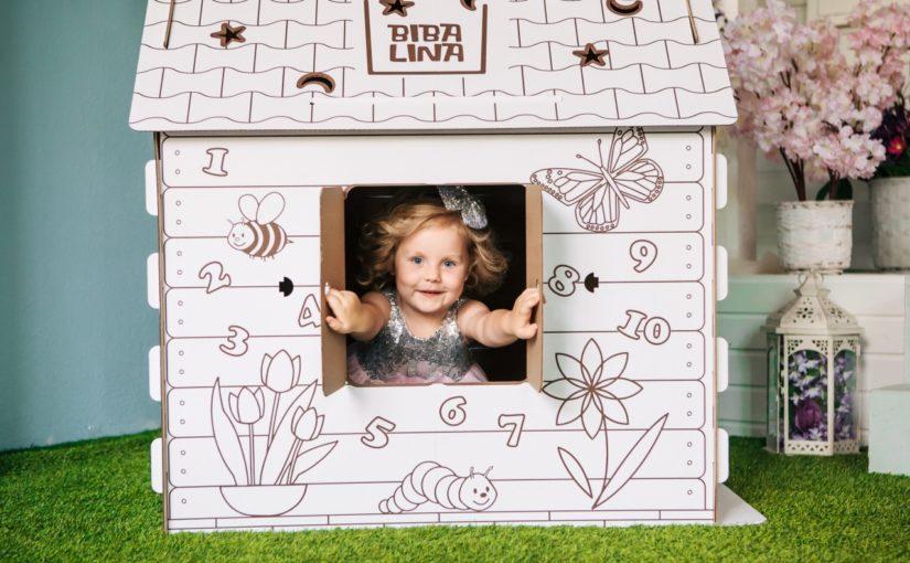Дом-раскраска Бибалина можно купить в Железнодорожном