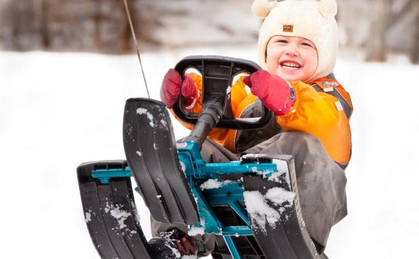Выигрываем классный снегокат!